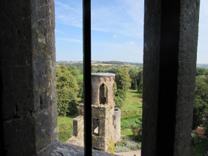 Blarney Castle window view