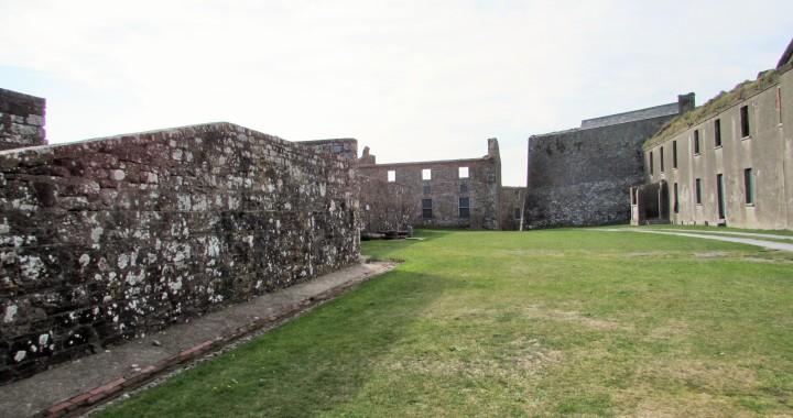 Inside Fort Charles