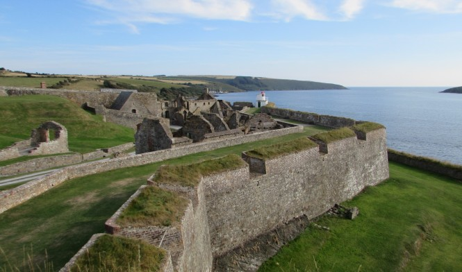 Charles Fort on Kinsale Harbor