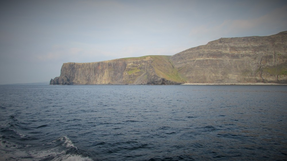 Cliffs of Moher from sea