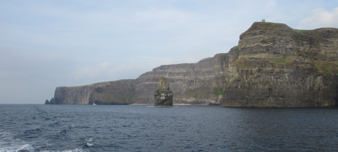 Another View of the Cliffs of Moher from the sea